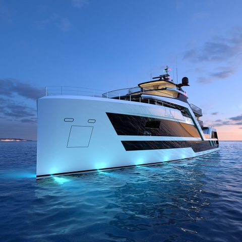 superyachts vanguard hydro tech explorer