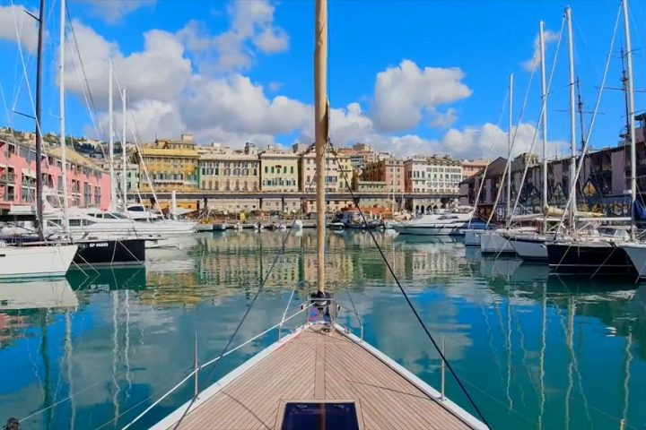 Marina Porto antico  видео