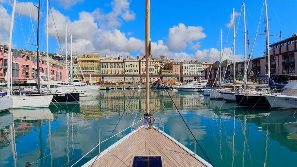 Marina Porto antico video!