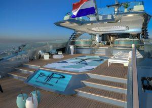 Royal Huisman PHI main deck