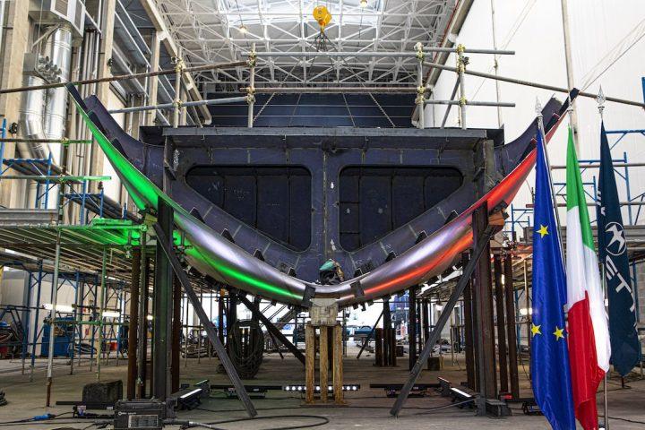 Baglietto TLine 52 metre keel