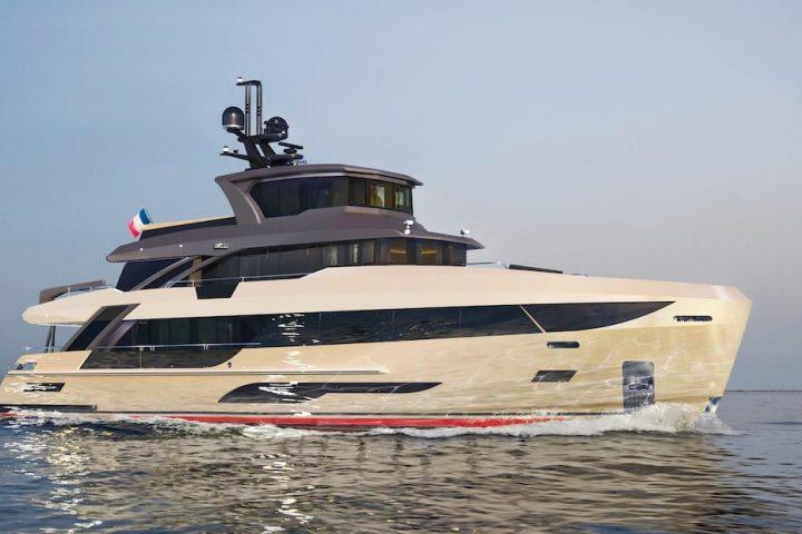 Bering Yachts В107 sailing