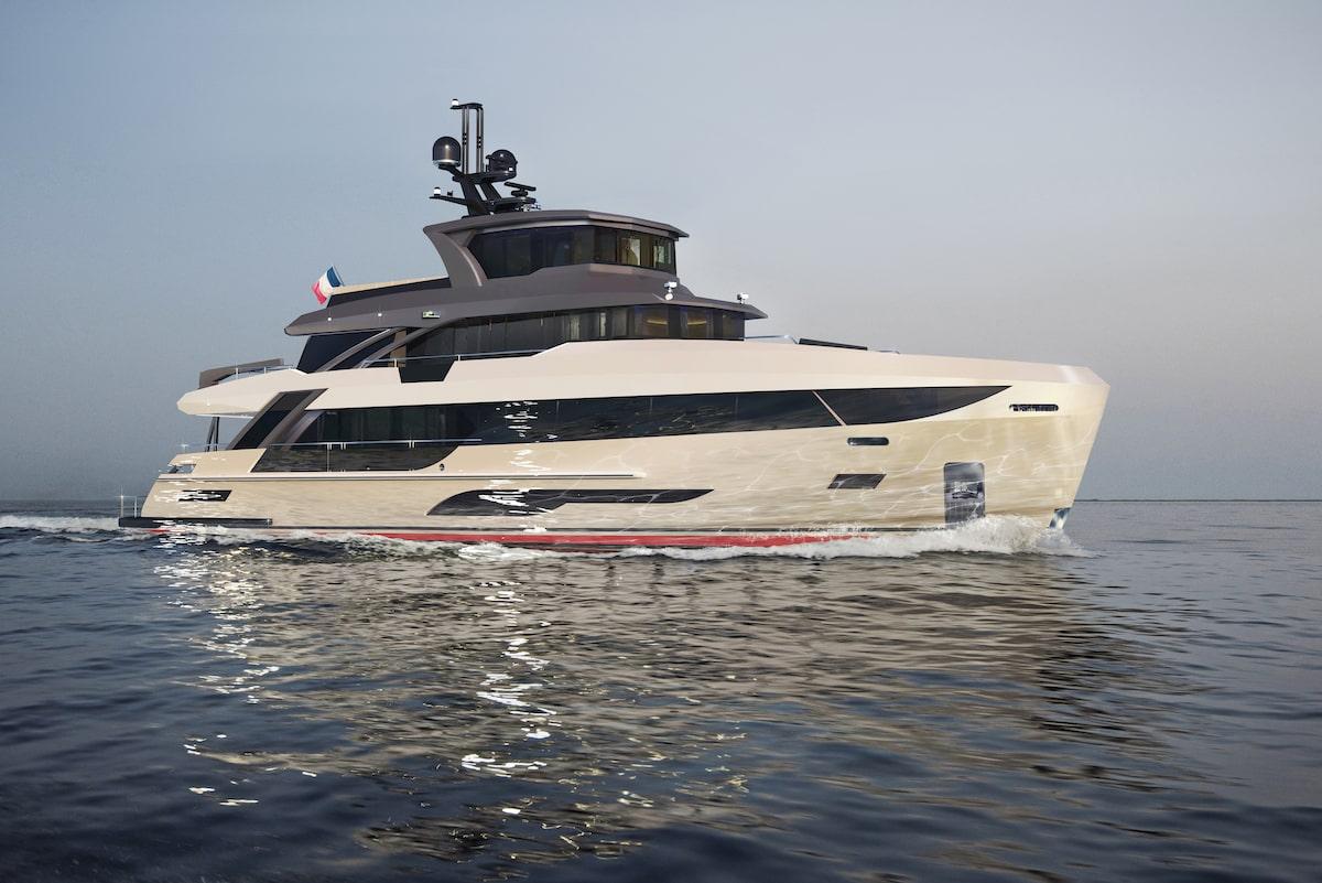 Bering Yachts В107 - 3-min