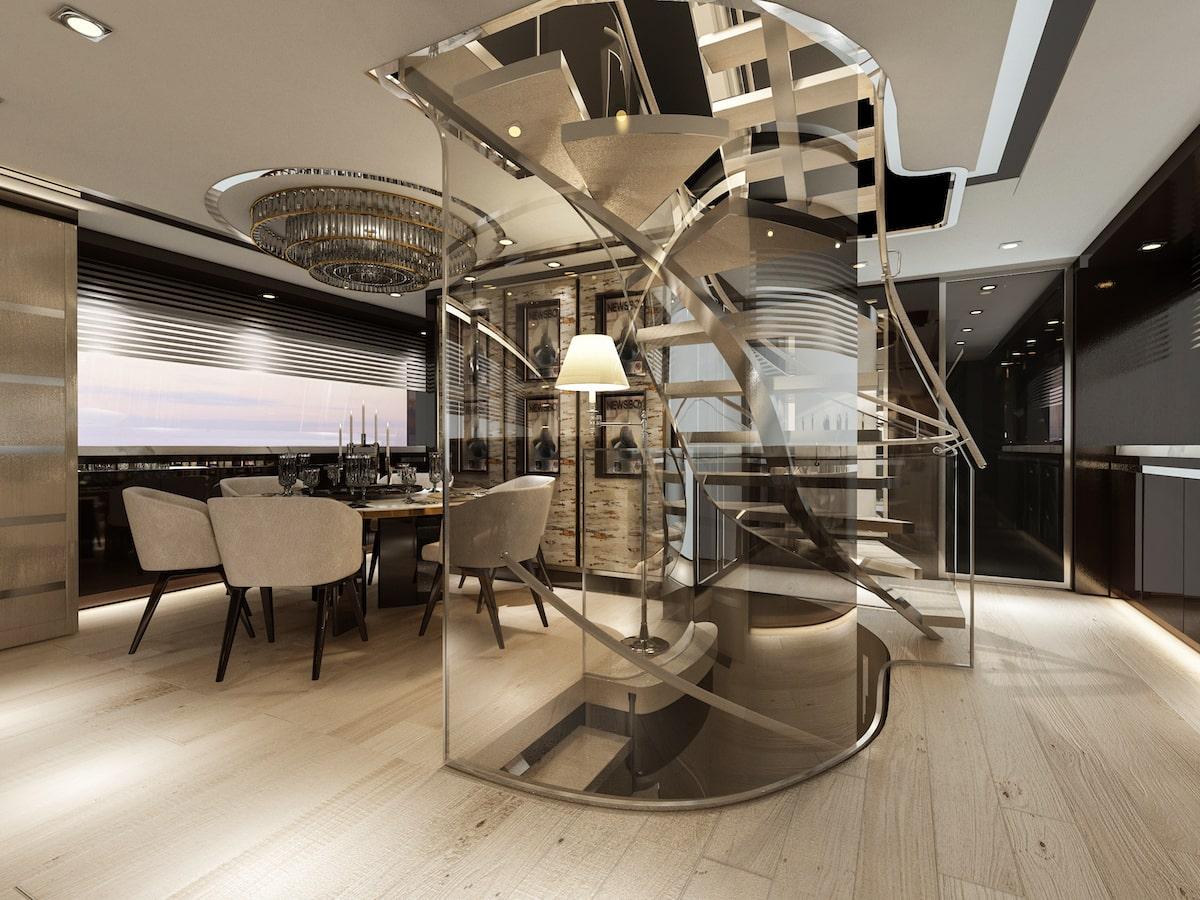 Bering Yachts B107-salon-min