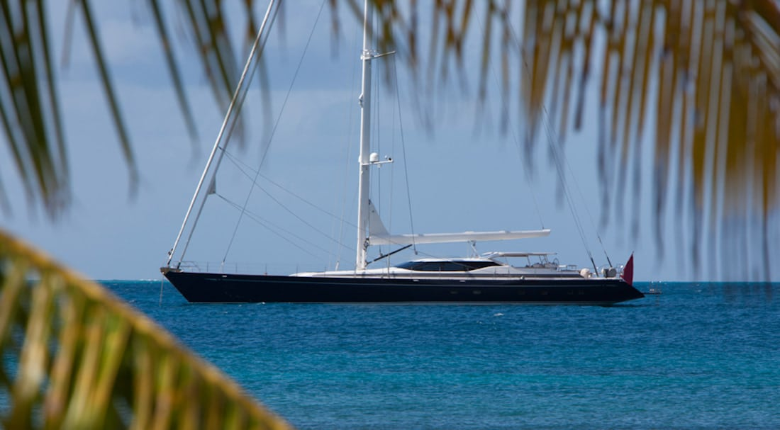 Thandeka sailing Carribean