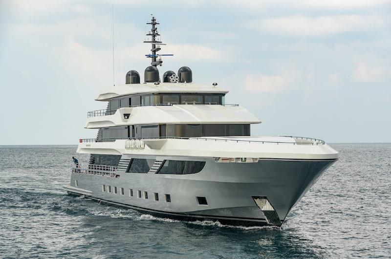 sea trial navigating