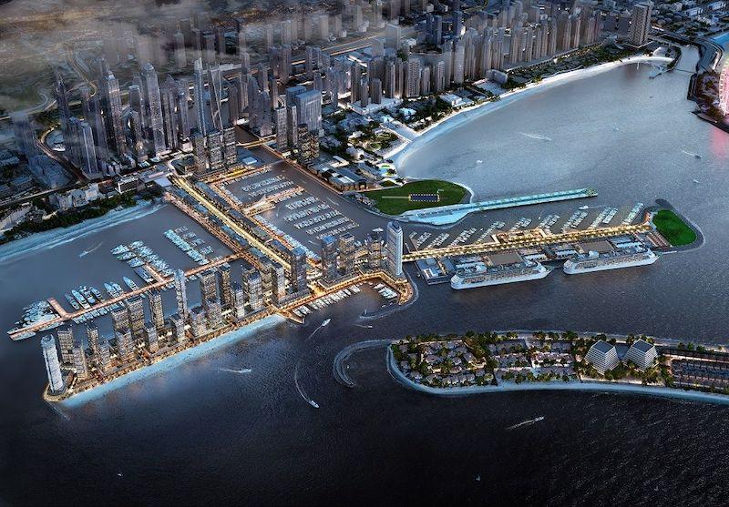 Dubai Boat Show vista aerea