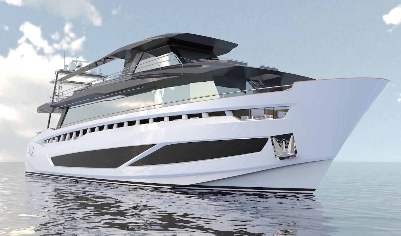 Fabiani Yacht Futura 101 Ibrida