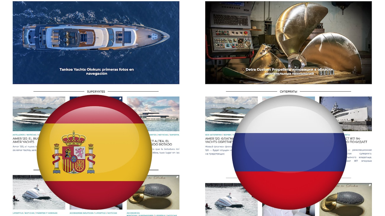Superyachts rivista spagnolo