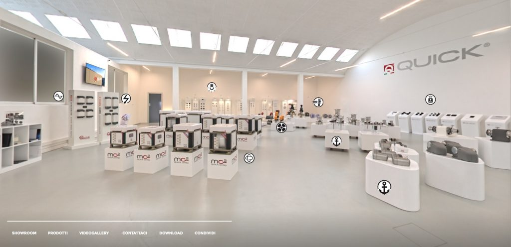 Virtual Show Room Quick Spa