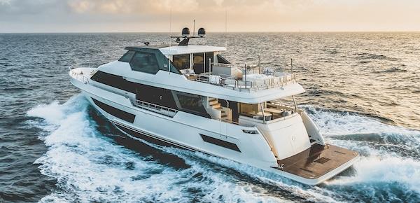 Ocean Alexander 32 Legend navigation
